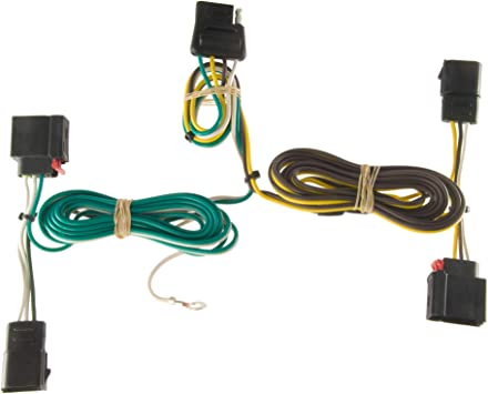 Amazon.com: CURT 56133 Vehicle-Side Custom 4-Pin Trailer Wiring Harness for  Select Dodge Durango: AutomotiveAmazon.com