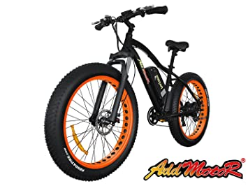 Bicicleta Motan eléctrica actualizada, de Addmotor, motor Bafang M-550 48V