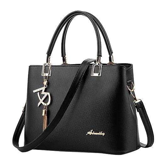 d8068279ff3 Amazon.com: Sunyastor Hot Sale! Sunyastor Womens Fashion Women Leather  Crossbody Bag Shoulder Bag Messenger Tote Bag Hangbag Purses Designer  Satchel with ...