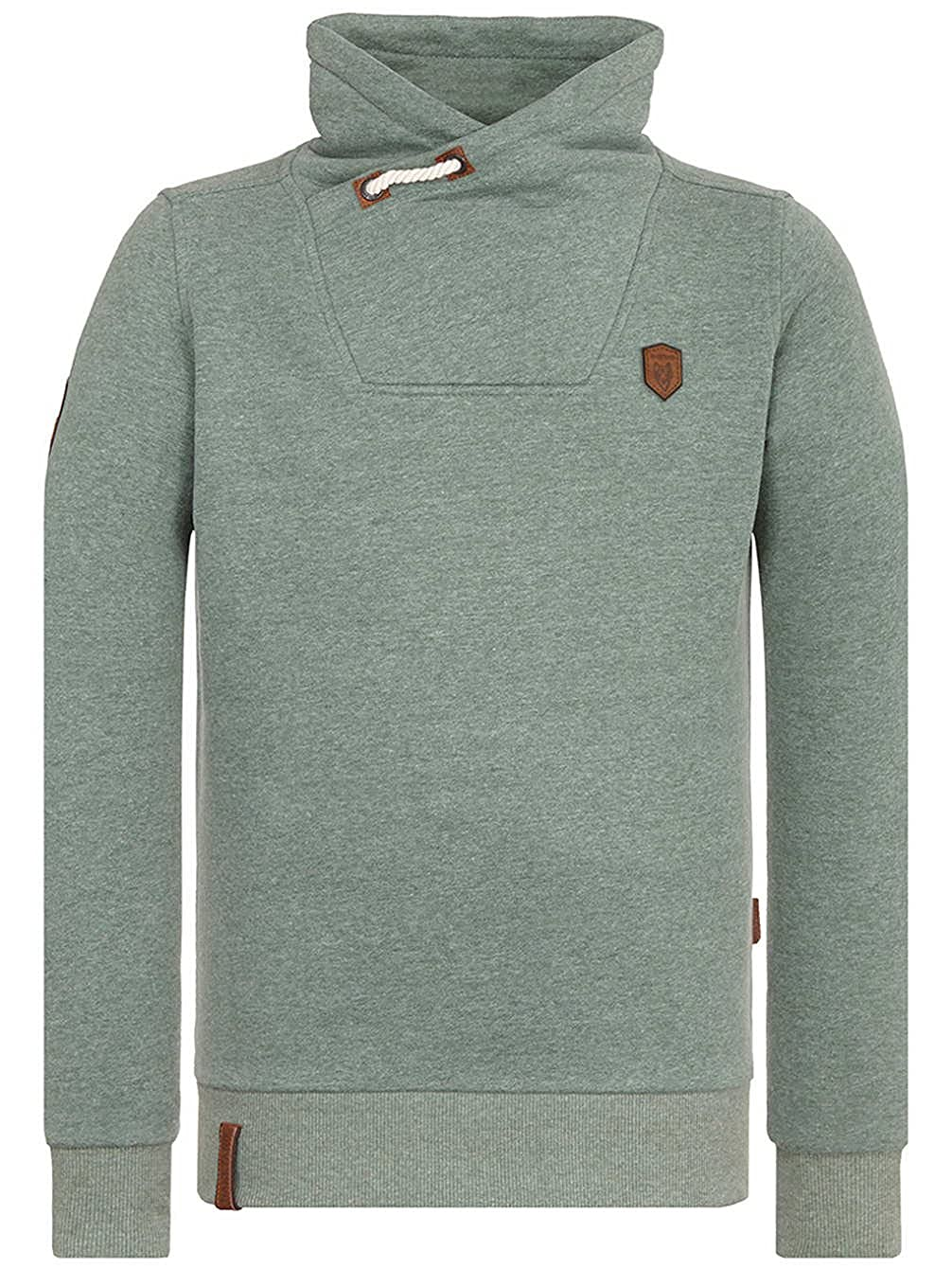 Naketano Congenialer Pimmel III Sweatshirt für Herren Grau
