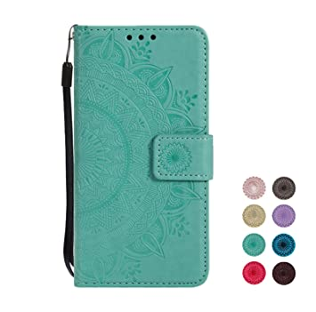 20686f289903 E-Panda Samsung Galaxy J4 2018 Case Mandala Designer PU Leather Flip ...