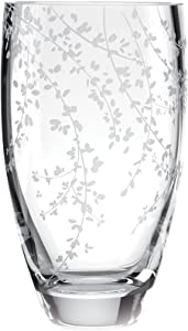 "Kate Spade New York Gardner Street Bouquet Vase 8.5"" Clear Vase"