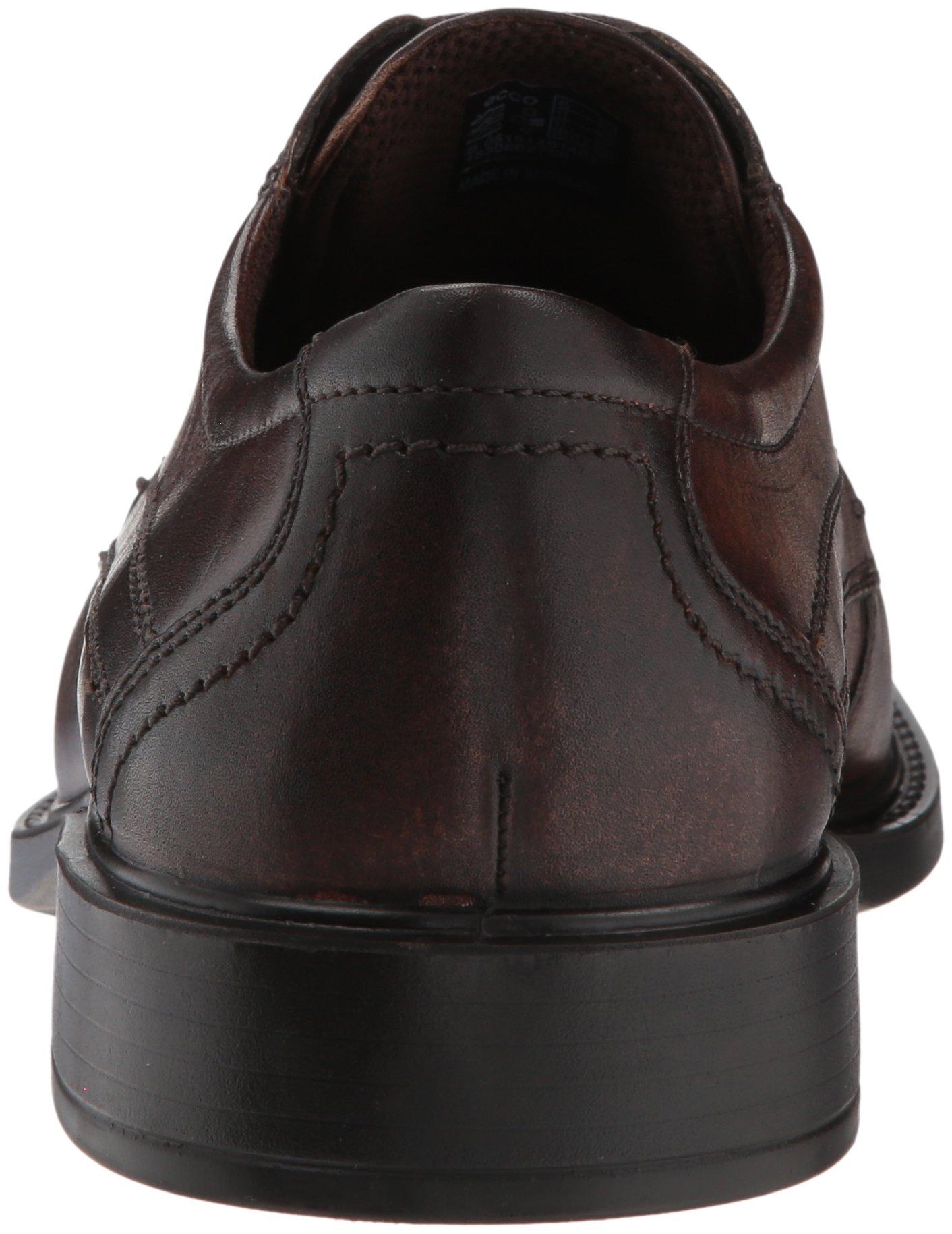 ECCO New Jersey Lace Oxford Cocoa Brown 41 EU (US Men's 7-7.5 M) by ECCO (Image #2)