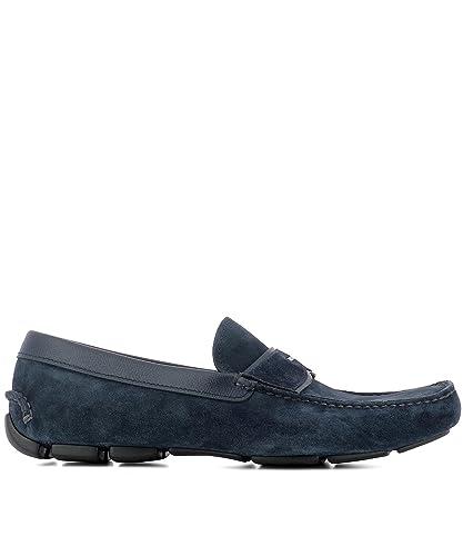 Prada Mocasines Para Hombre Azul Azul It - Marke Größe, Color Azul, Talla 41 IT - Marke Größe 7: Amazon.es: Zapatos y complementos