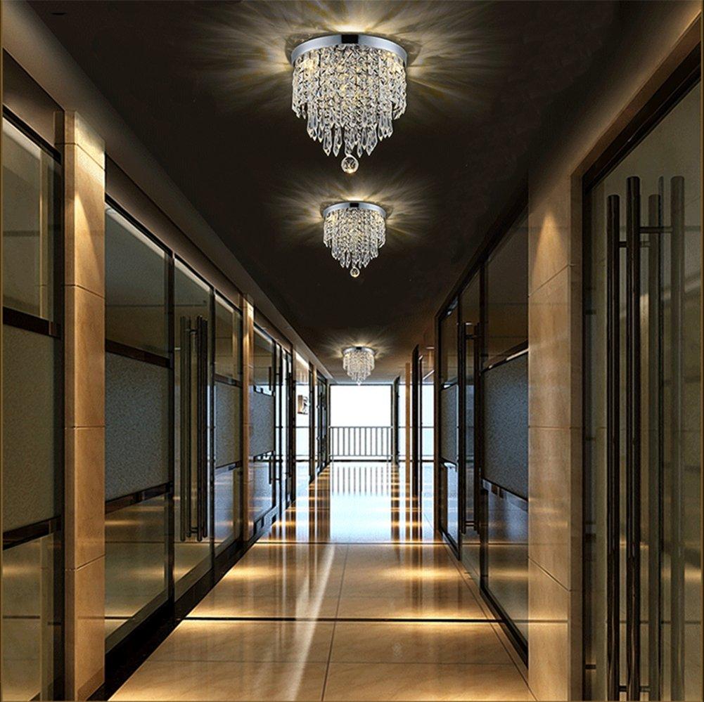 Hile Lighting KU300074 Modern Chandelier Crystal Ball Fixture Pendant Ceiling Lamp H9.84'' X W8.66'', 1 Light by Hile Lighting (Image #3)