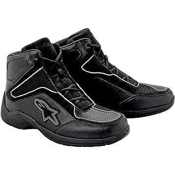bce4e8ed6e8 Alpinestars Mens Blacktop Motorcycle Riding Shoes Black 9  Amazon.ca   Sports   Outdoors