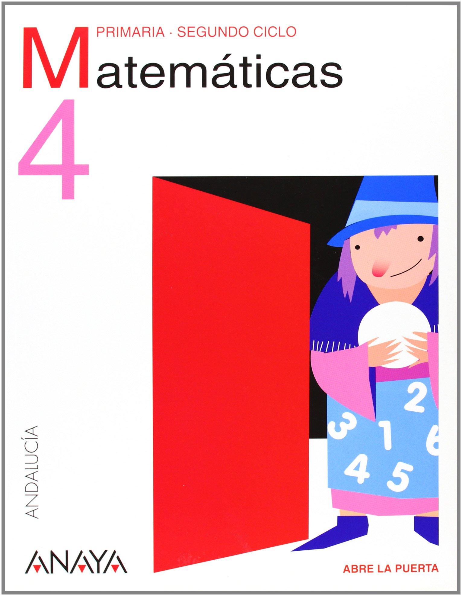Download Matemáticas 4. 4º Educación Primaria. Libro del Alumno. Andalucía PDF