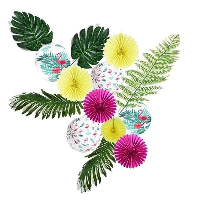 16 X Rosa Flamingo Happy Geburtstag Servietten Hawaii Luau Tropische Party