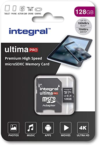 Integral 128 GB Premium High Speed Micro SD