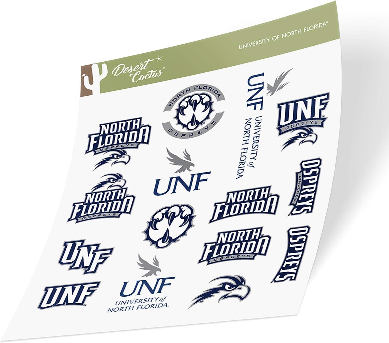 Type 1-1 Sheet University of North Florida UNF Ospreys NCAA Sticker Vinyl Decal Laptop Water Bottle Car Scrapbook