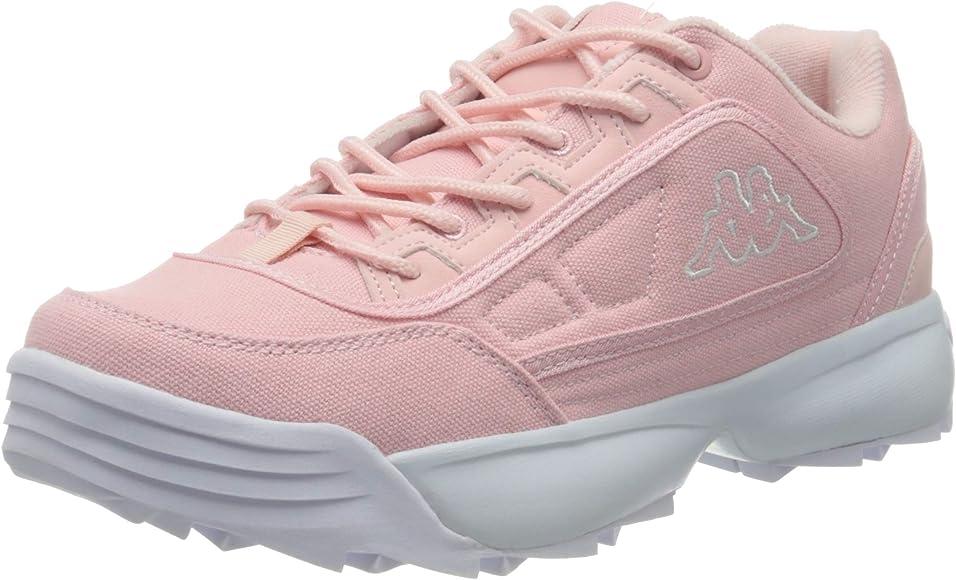 Kappa Rave Sun, Zapatillas para Mujer, Rojo (Rosa/White 2110), 37 EU: Amazon.es: Zapatos y complementos