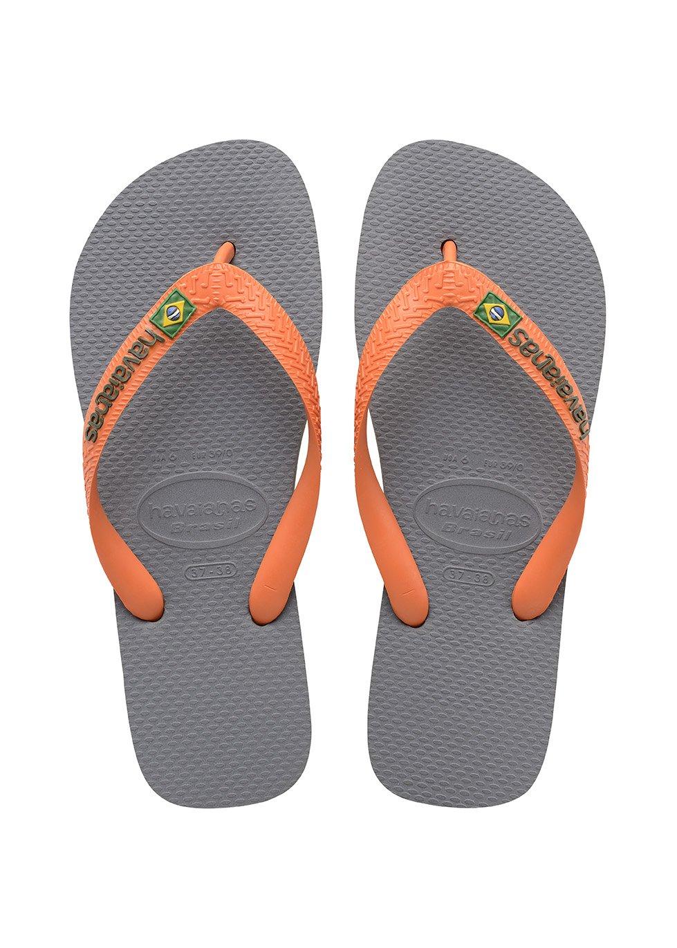 7f9627cf5 Galleon - Havaianas Brasil Logo Unisex Adult s Flip Flops