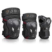 Deals on JBM Adult BMX Bike Knee Pads