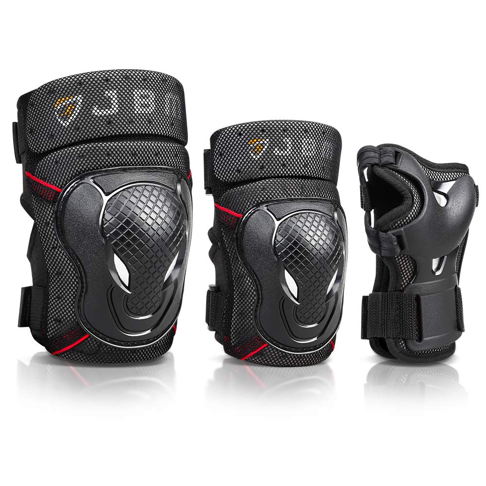JBM Kids Child BMX Bike Knee Pads and Elbow Pads