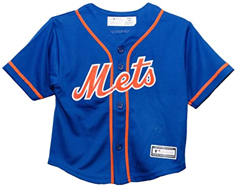 super popular 8ac19 d3a18 Amazon.com : Outerstuff New York Mets Alternate Blue Infant ...