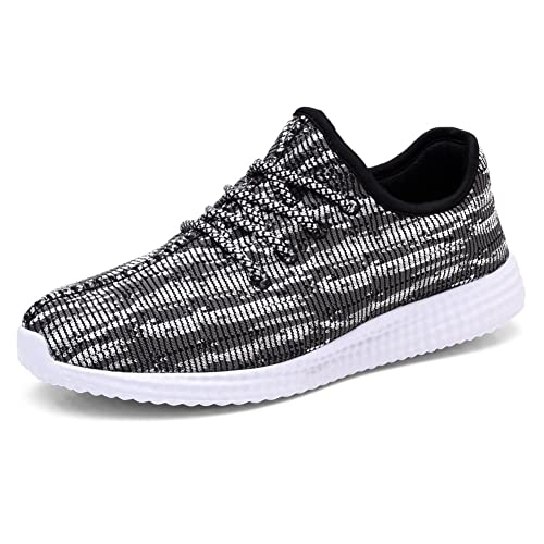 cc9ae1c14d7d0 TIOSEBON Men's Lightweight Sports Running Shoes Fashion Breathable Sneakers