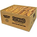 Better Wood Products Fatwood Firestarter Box, 50-Pounds