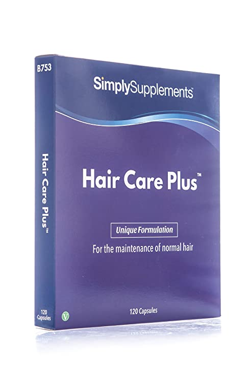 Hair Care Plus - 120 cápsulas - Hasta 4 meses de suministro - 5 vitaminas y