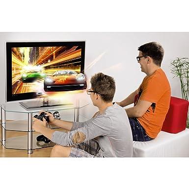 Hama Dual Gaming Polfilterbrille 2er Stück Schwarz Games