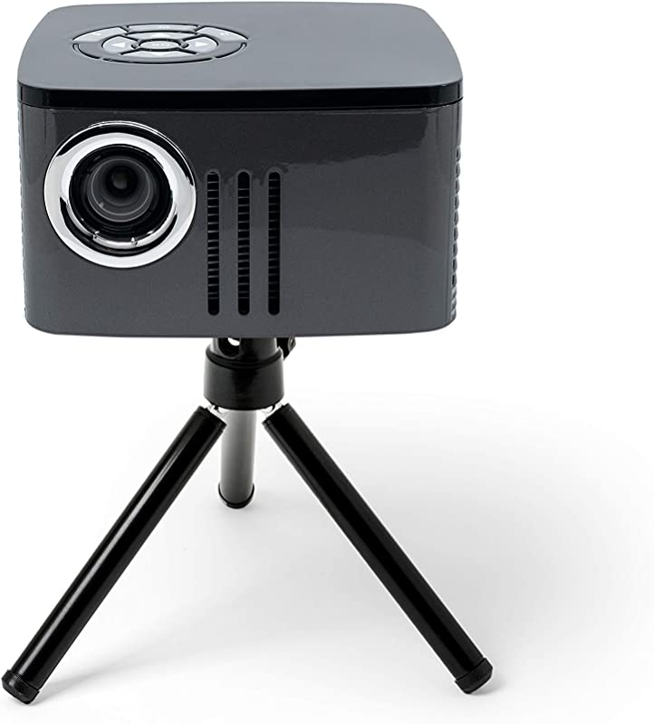 AAXA P7 Mini Projector with Battery, Native 1080P Resolution, 30,000 Hours LED Portable Projector