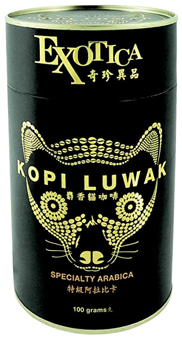 amazon com the world s most exclusive coffee kopi luwak specialty