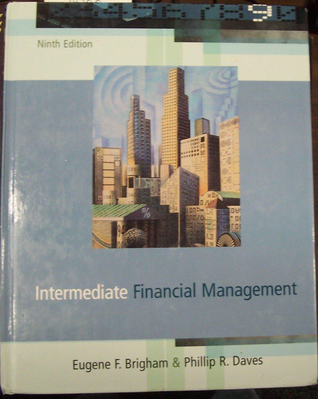 Intermediate Financial Management: Eugene F. Brigham: 9780324319873:  Amazon.com: Books