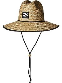 2ddba995459af Brooklyn Surf Men s Straw Sun Lifeguard Beach Hat Raffia Wide Brim