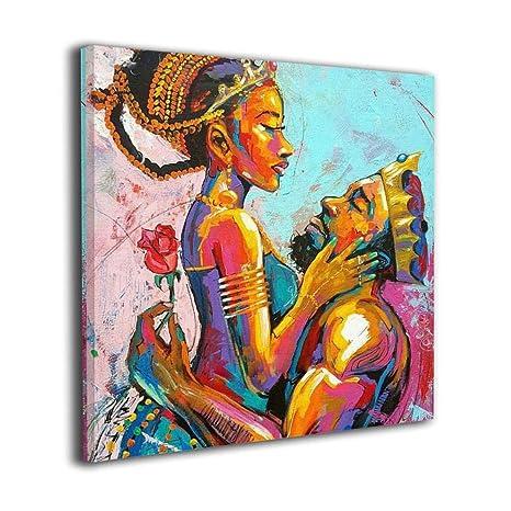 Amazon Com Square Art Canvas Artwork Paintings Black