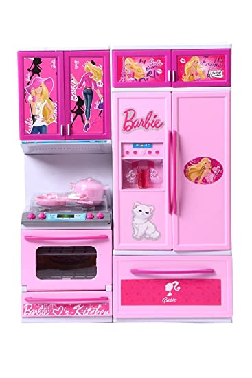 Buy Powerplay 2 Piece Barbie Kitchen Set For Girls Online At Low