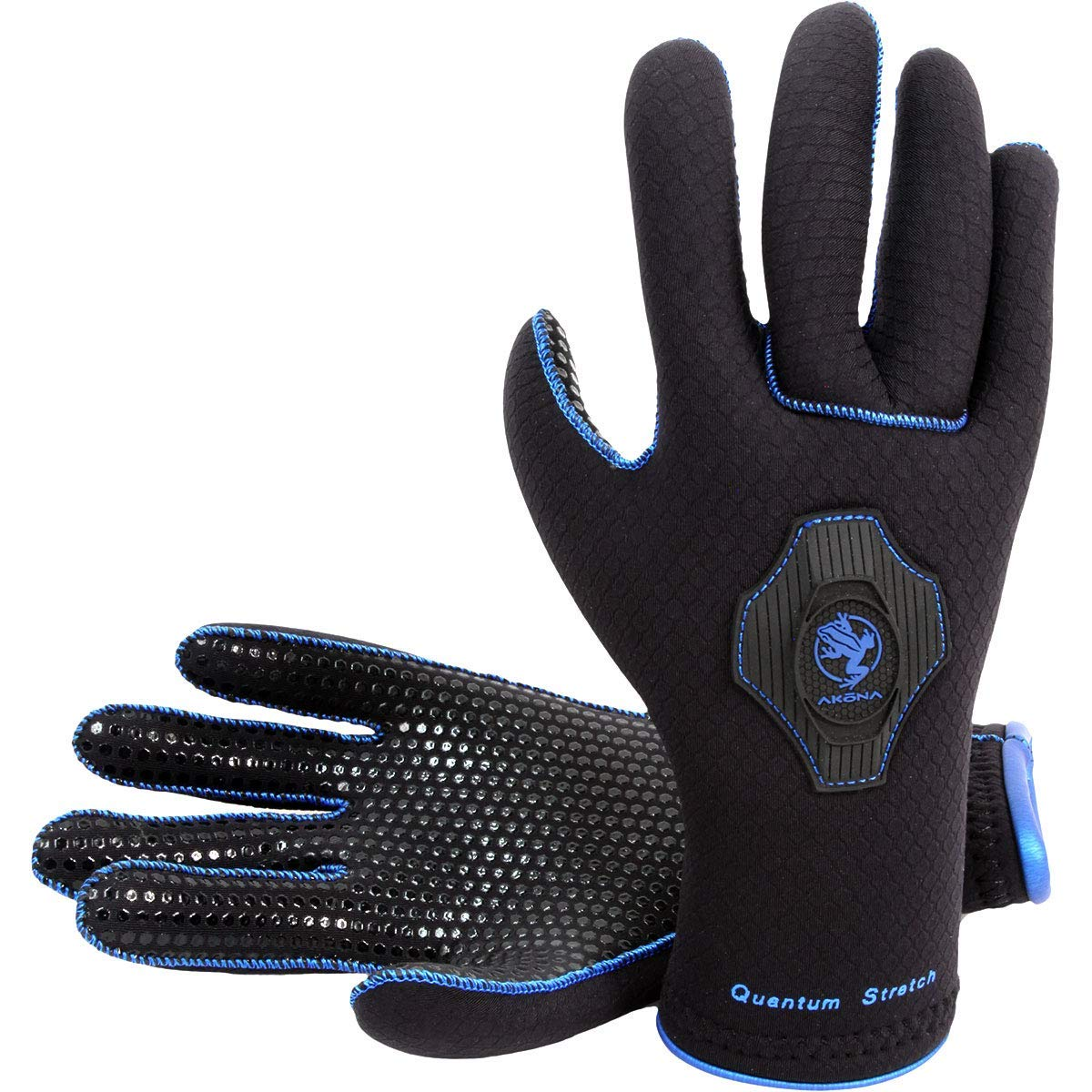 AKONA 3.5mm Quantum Stretch Dive Gloves, Small