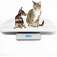 Balance pour peser les chats/chiens avec précision, capacité de 100kg, précision à 10g près, hauteur de la palette de 60cm