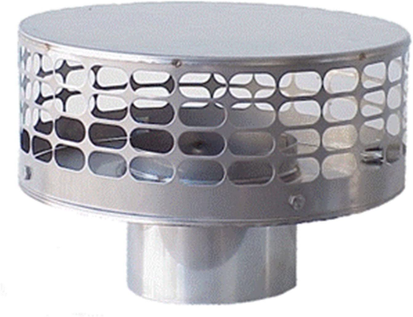 "Liner 9/"" Diameter Stainless Steel Stove Pipe"