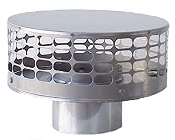 Image Unavailable Image Not Available For Color The Forever Cap Ccfs6 6 Inch Stainless Steel Liner Top Chimney Cap