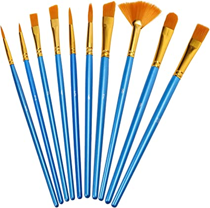 Pointed Hair Brush Tool Supplies Watercolor And Oil Painting Brushes Accessories