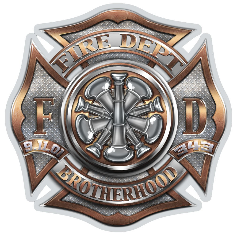 Amazon com: Collectible Firefighter Decals (6in,2pack), Share your