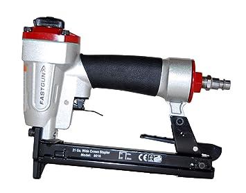 Grapadora Neumática FASTGUN FG 8016 para grapa Tipo 80 de 6 a 16 mm + 2.000