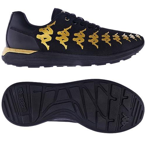Kappa 222 Banda : FANAST Black Gold Rich: : Banda Chaussures et Sacs ec92a0
