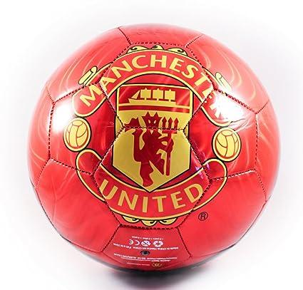 Manchester United de balón de fútbol (tamaño 5): Amazon.es ...