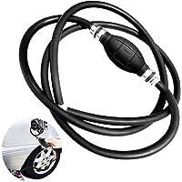 Bomba Manual de Combustible,para Gas,Gasolina,Petróleo,Transporte de Combustible de Agua Líquida,Seguro y Conveniente,8 mm (Negro)