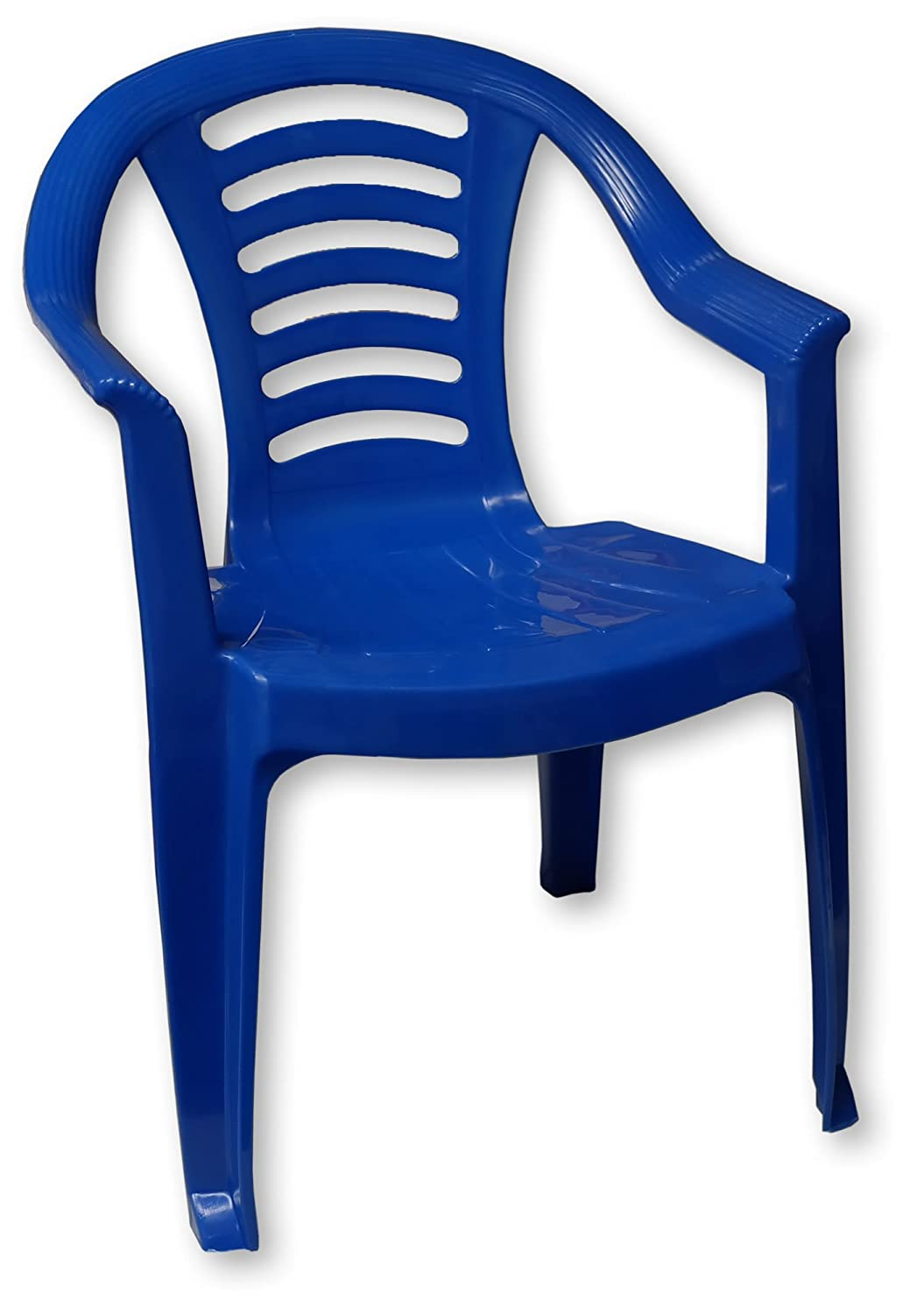 Blue Childrens Plastic Chair Nursery Set Outdoor Tea Party Toy Garden  Roleplay: Amazon.co.uk: Garden U0026 Outdoors