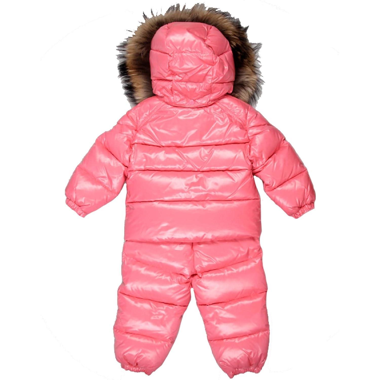 22abc2943 Amazon.com  Moncler Baby Girls Pink Snow Suit Coats Size 6 9 Months ...