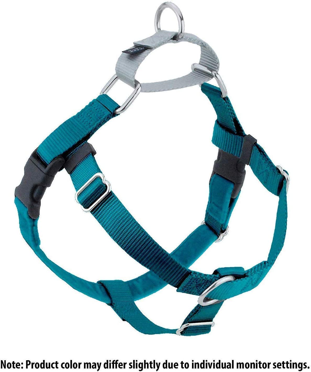 Small Purple Wiggles Wags Whiskers Freedom No-Pull Dog Harness: Velvet Padding Lots of Sizes /& Colors Leash Not Included Multi-function /& USA Made