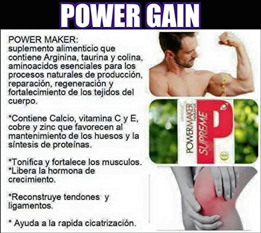 Amazon.com: Omnilife Power Gain Supreme Power Maker, Box with 30 Sachets (300G) Shipped by Liss: Health & Personal Care