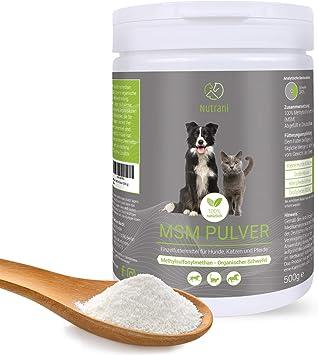 MSM Pulver 2 x 1kg für Hunde und Pferde 11,6€ kg