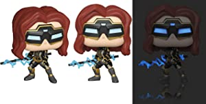 Funko Pop! Marvel: Avengers Game - Black Widow (Stark Tech Suit) Styles May Vary, Multicolor (47813)