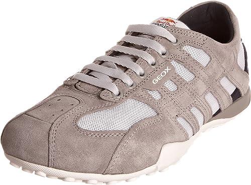 borgoña Engreído Hazlo pesado  Amazon.com: Geox Hombre Snake Red Bull A Zapatillas: Shoes