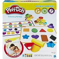 Play-Doh Aprende Colores y Formas, multicolor, 20 x