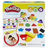 Play-Doh–Teaches Colors and Shapes