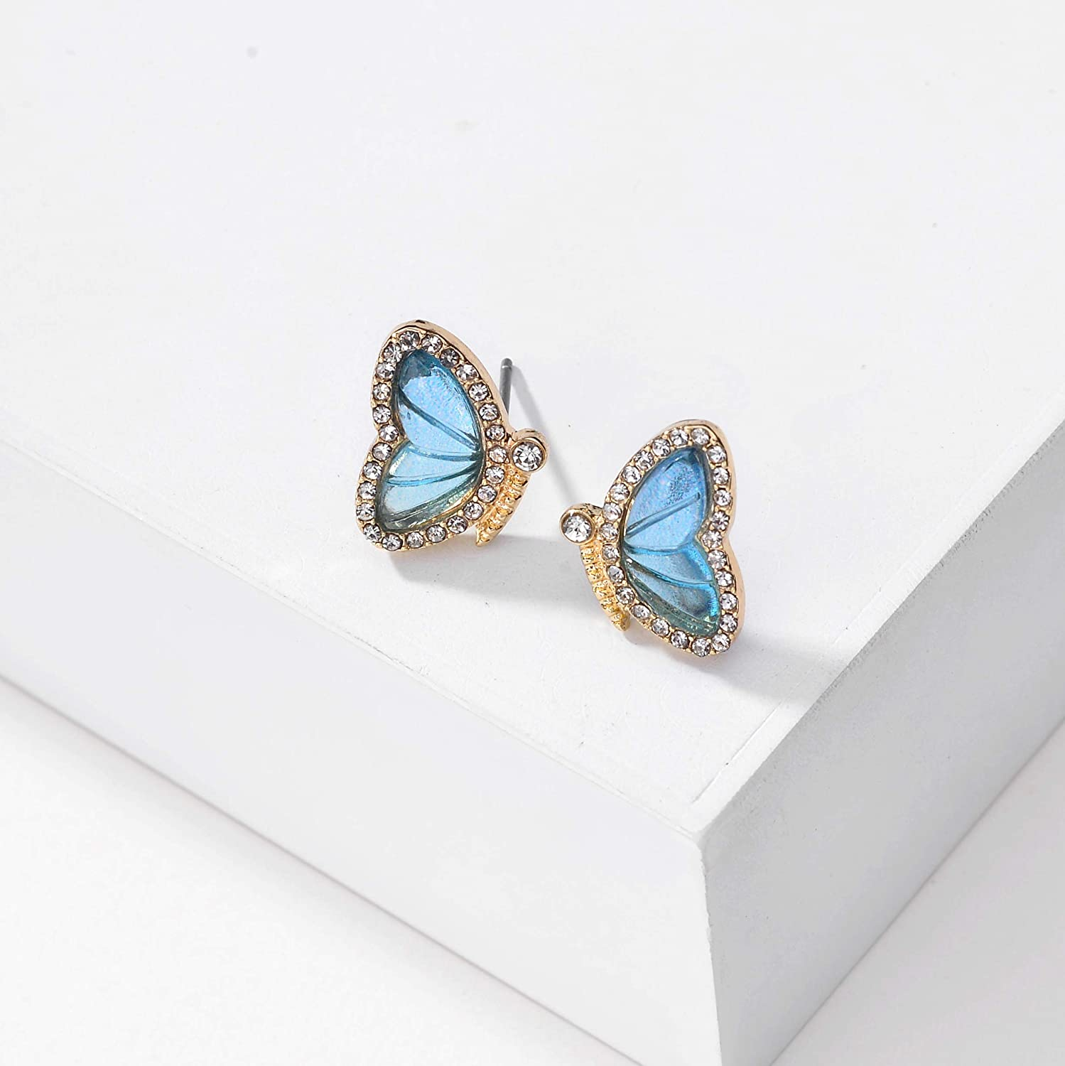 Butterfly Earrings Sweet Insect Fashion Jewelry For Girl Women Charms Gift