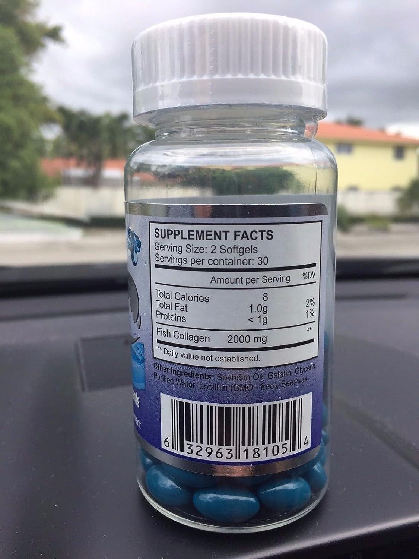 Amazon.com: Marine C 1000 mg , Colageno Marino Healthy Cholesterol Antioxidante Hidrolizado Fish Collagen: Health & Personal Care